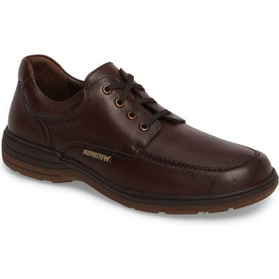 Mephisto Douk Hydroprotect Waterproof Moc Toe Derby- Brown