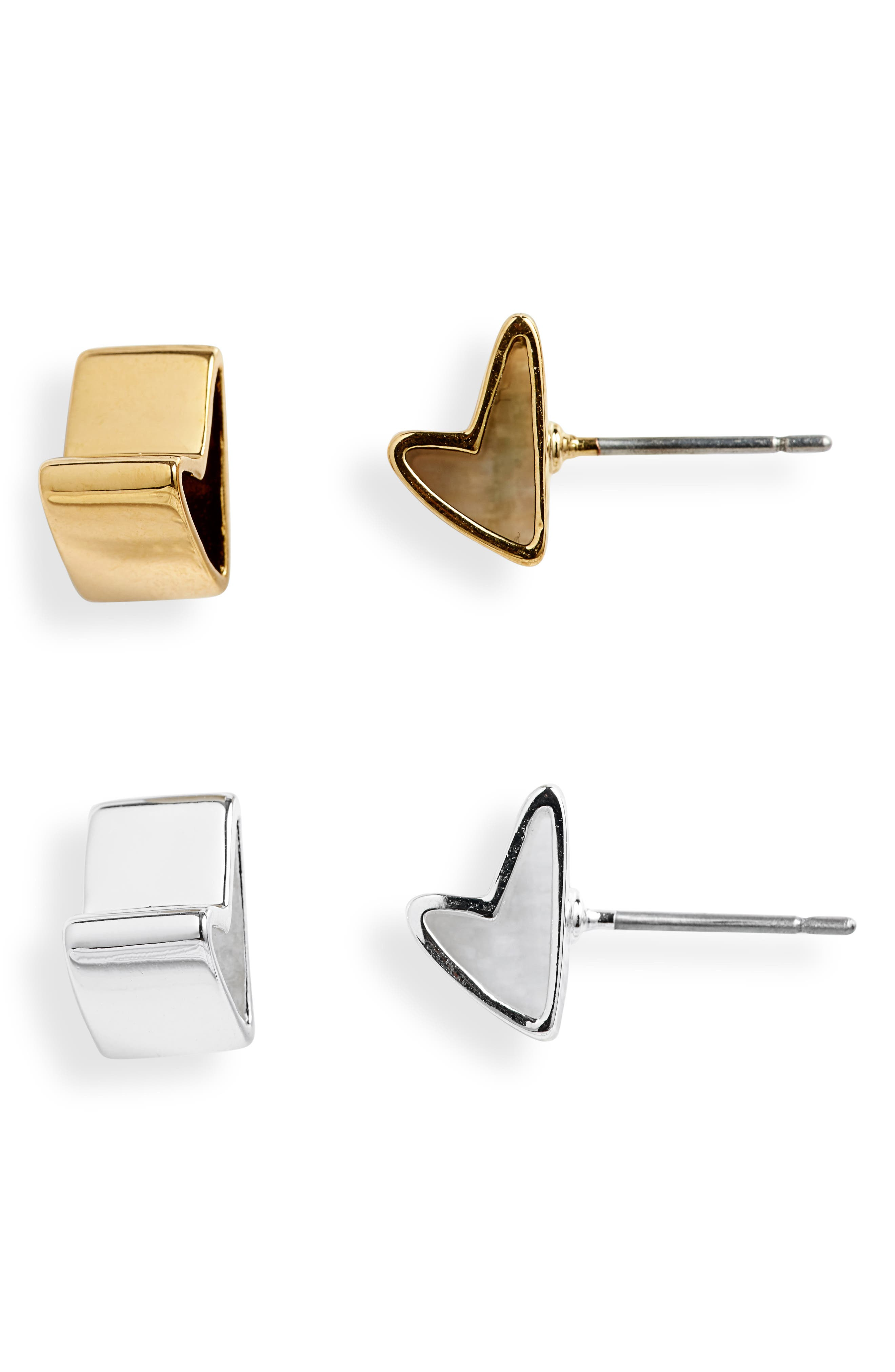 All Love Set Of 2 Stud Earrings