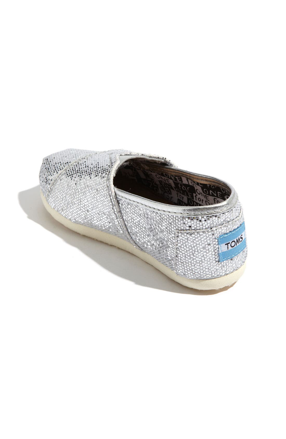 ,                             'Classic Tiny - Glitter' Slip-On,                             Alternate thumbnail 10, color,                             040