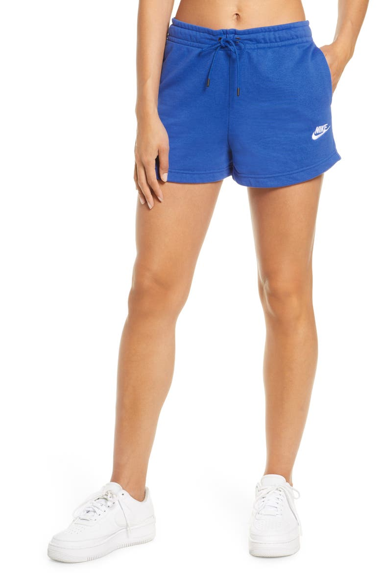 NIKE Essential Shorts, Main, color, GAMERL/WHITE