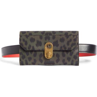 Christian Louboutin Elisa Nylon Belt Bag - Black
