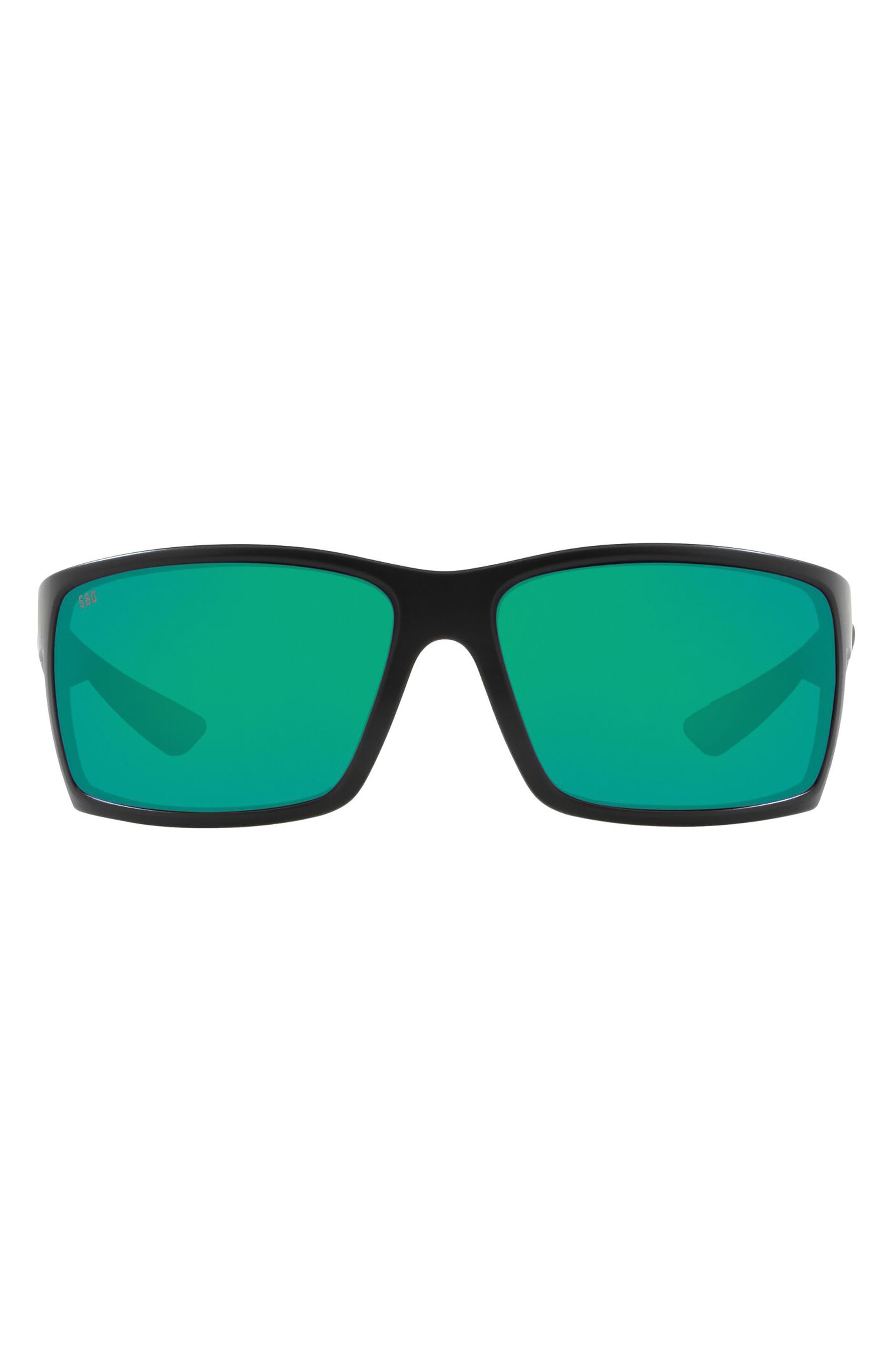 Reefton 64mm Mirrored Polarized Oversize Sunglasses
