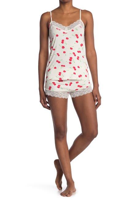 Image of COZY ROZY Cherry Pajama 2-Piece Set