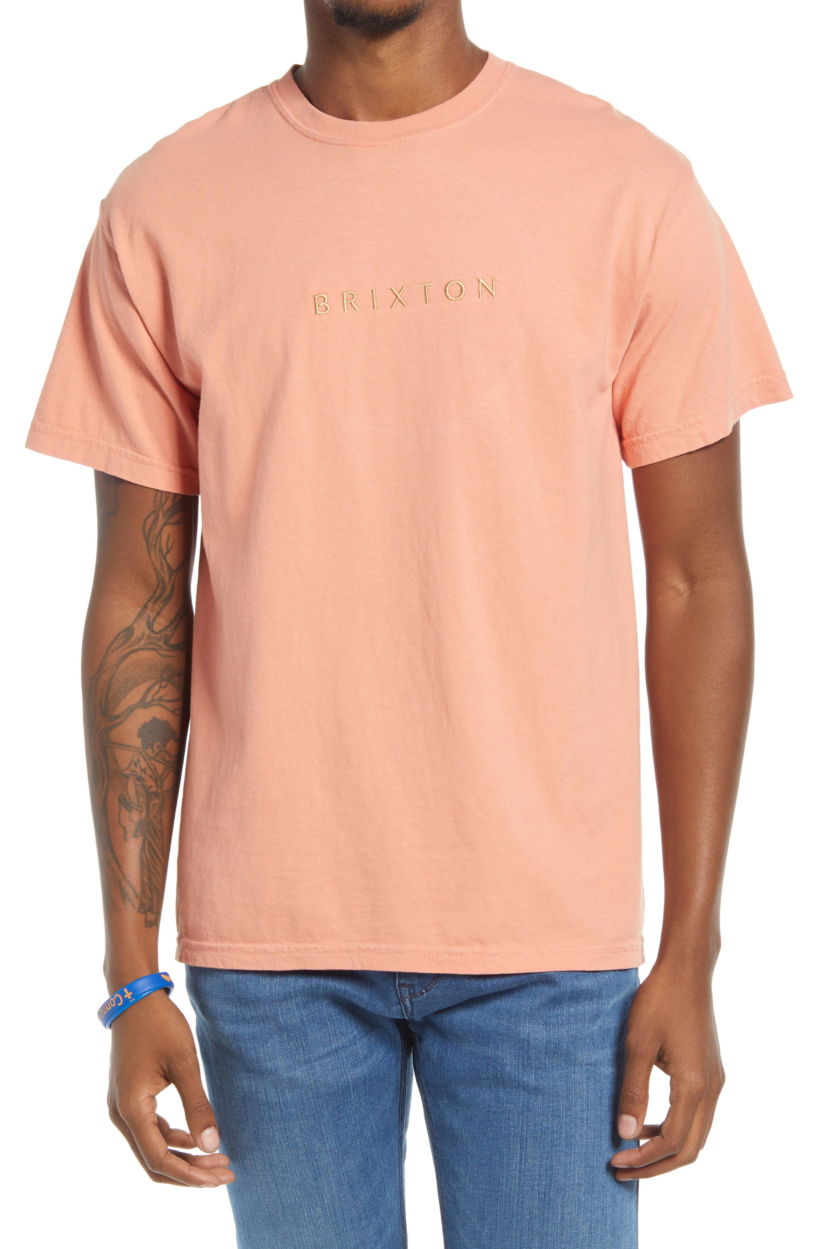 Faded Cotton T-Shirt