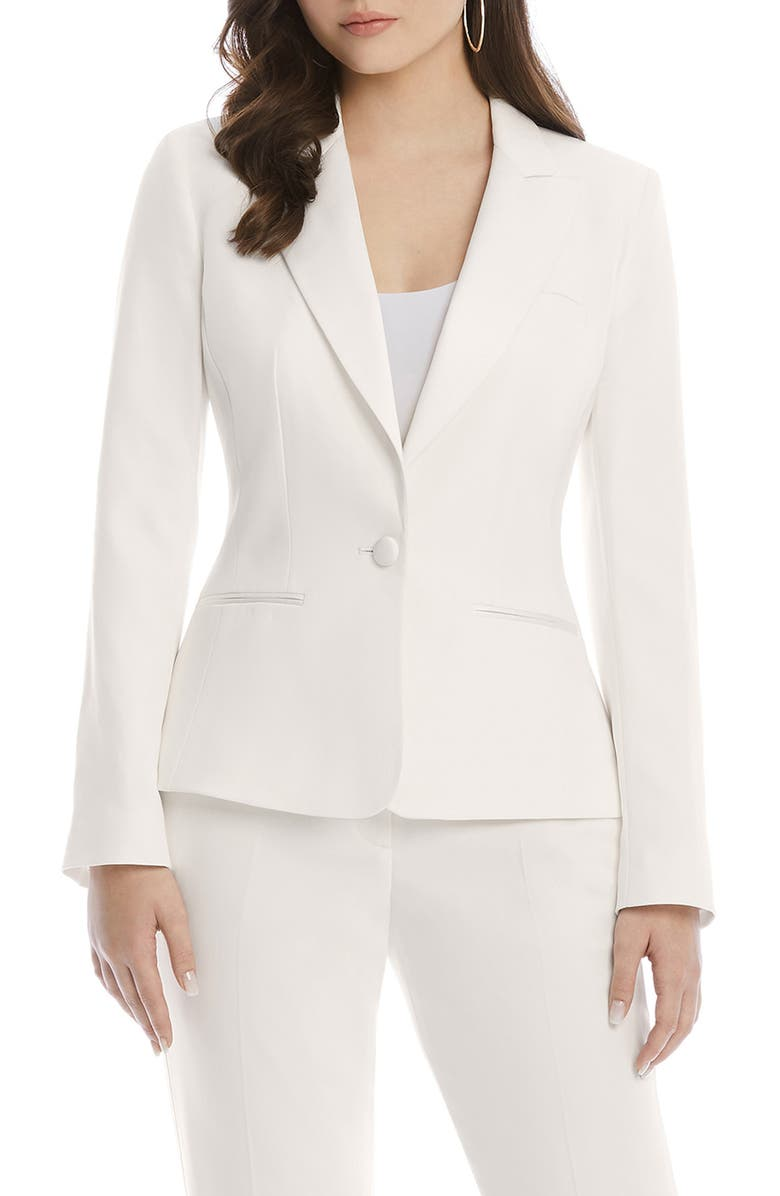 AFTER SIX Eve Bridal Tuxedo Jacket, Main, color, 900