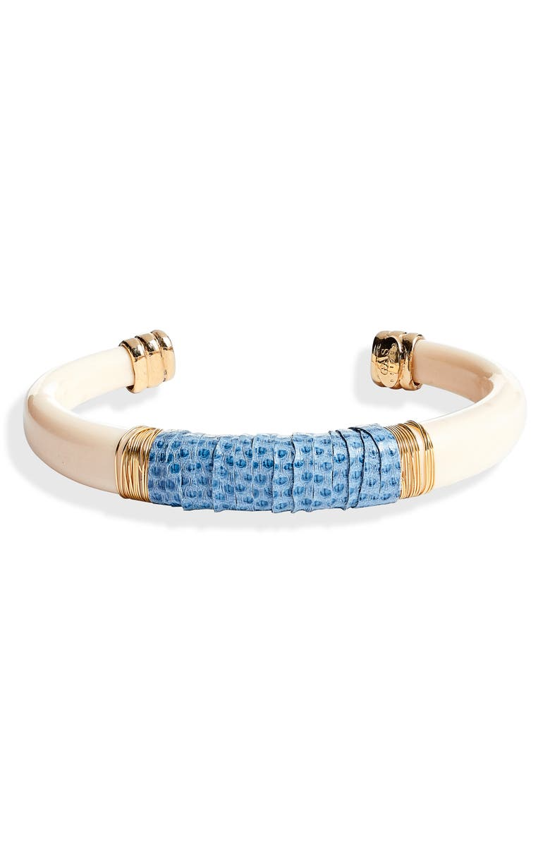 Celeste Snakeskin Bracelet by Gas Bijoux