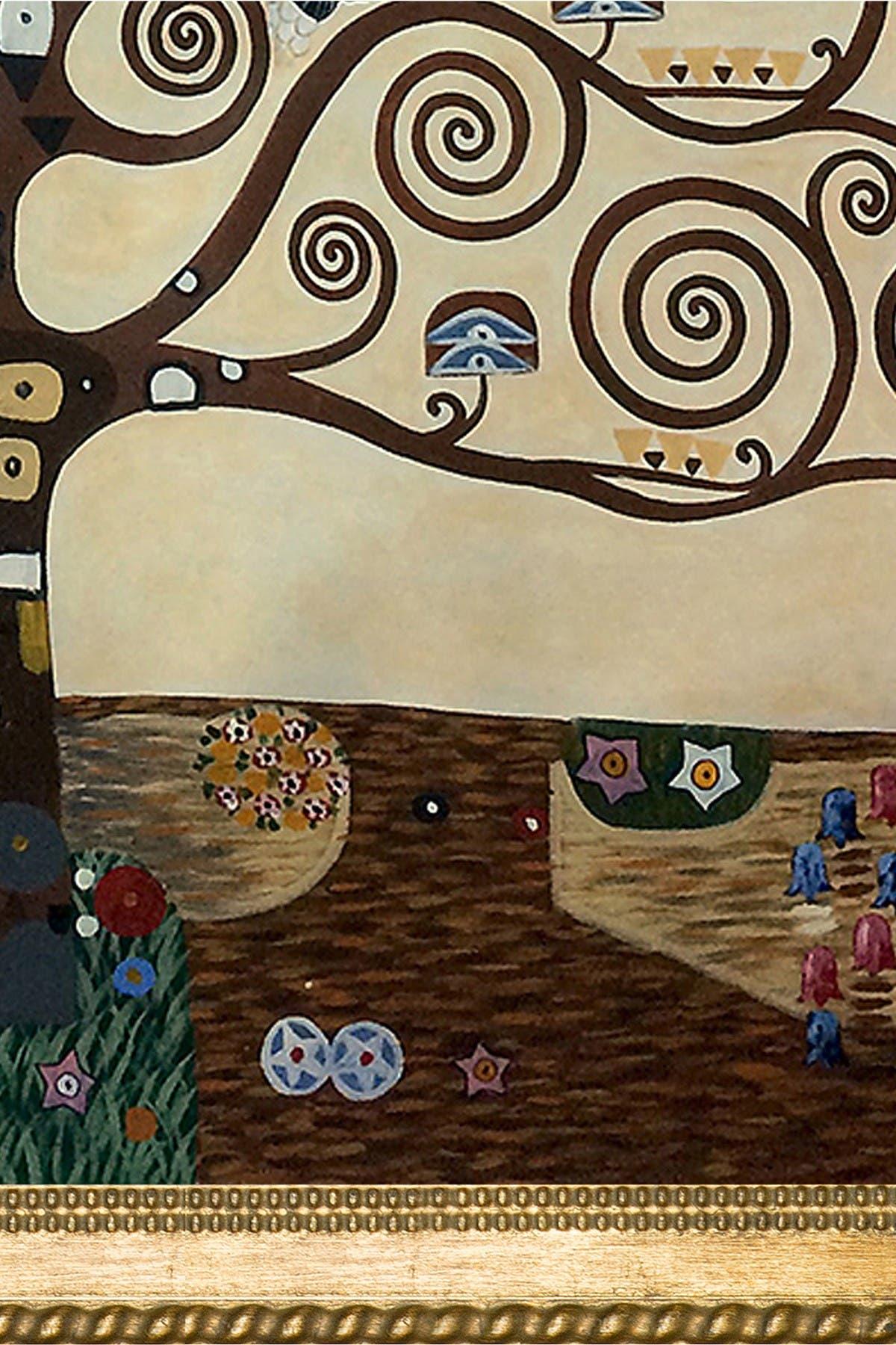 "Image of Overstock Art Tree of Life Framed Oil Reproduction of Original Painting by Gustav Klimt - 34.75""x44.75"""