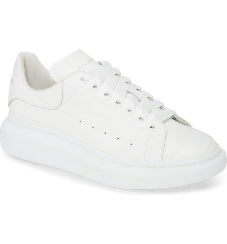 ALEXANDER MCQUEEN Oversize Sneaker, Main, color, WHITE/ MULTI