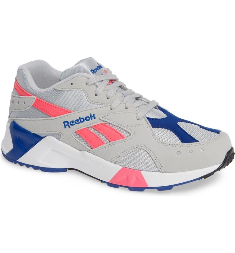 REEBOK Aztrek Sneaker, Main, color, 020