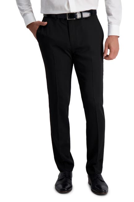 Image of Louis Raphael Slim Fit Stretch Heather Solid Urban Pants