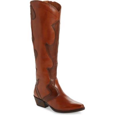 Pikolinos Vergel Tall Western Boot, Brown