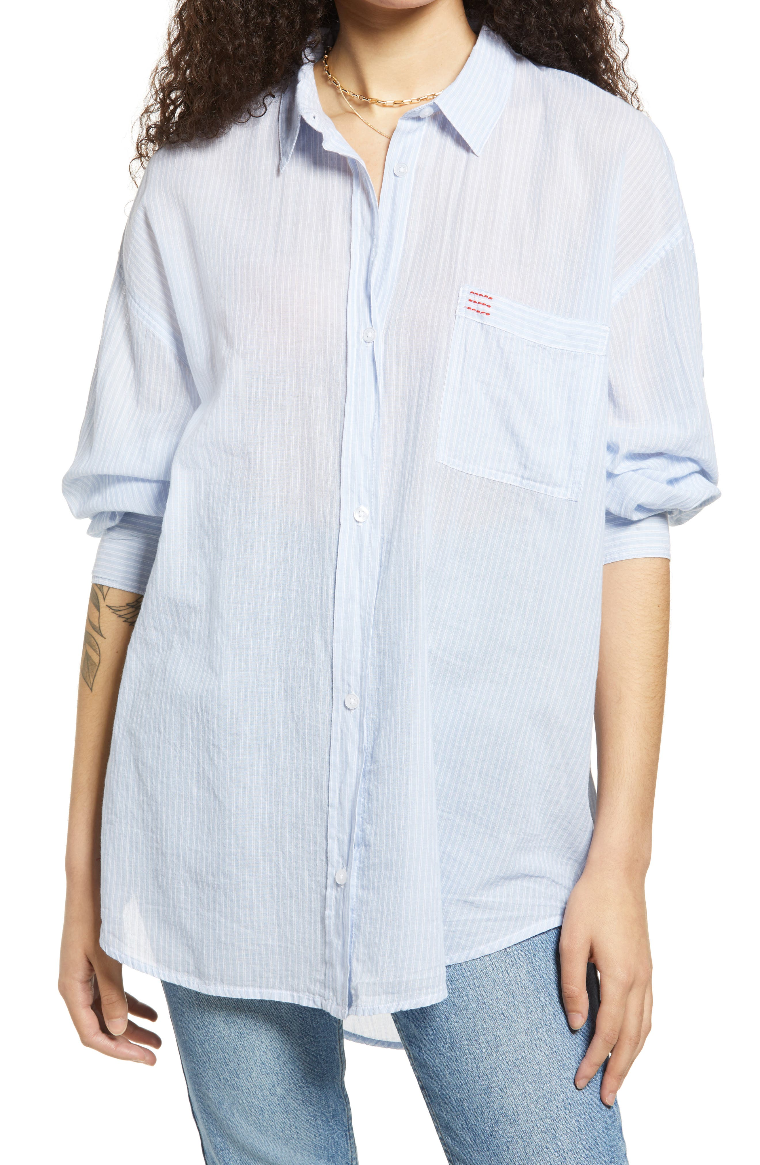 Sadie Oversize Stripe Shirt