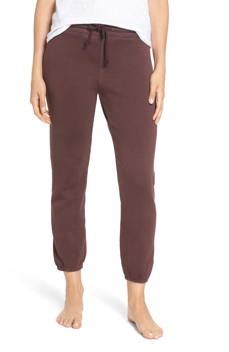 UGG<SUP>®</SUP> Valentene Jogger Pants, Main, color, PORT