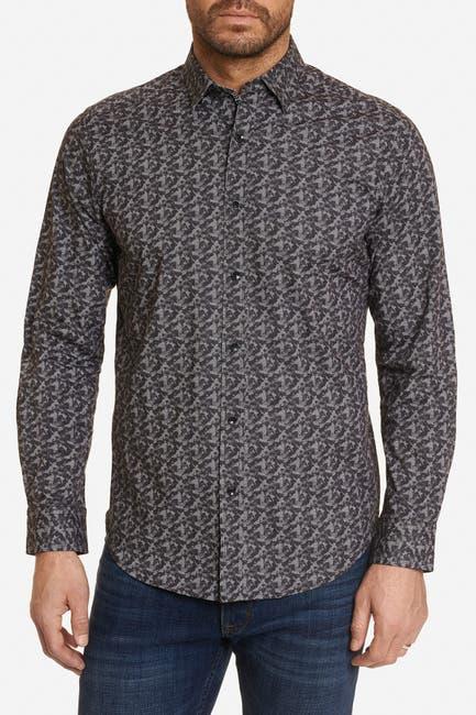 Image of Robert Graham Knight Printed Tailored Fit Shirt
