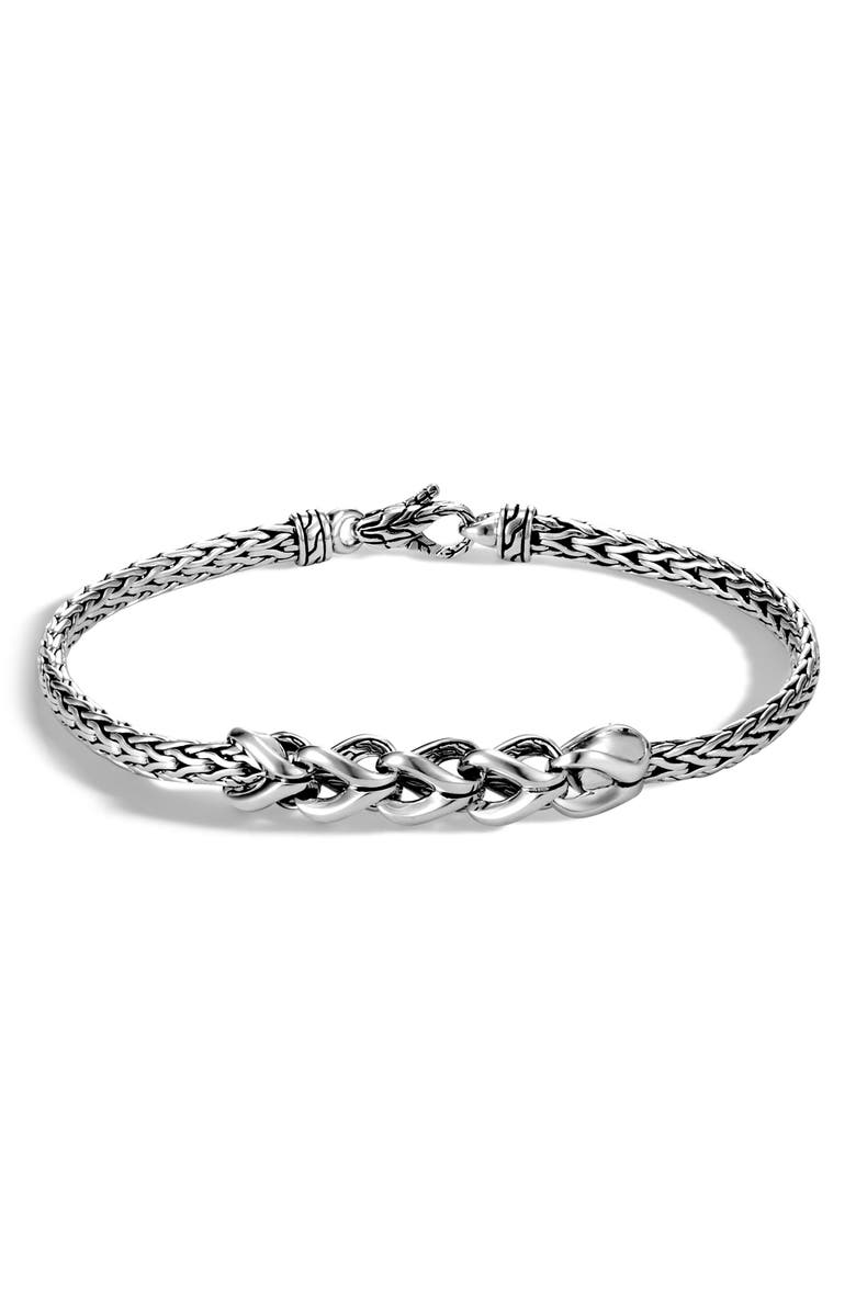 JOHN HARDY Asli Classic Chain Slim Chain Bracelet, Main, color, SILVER