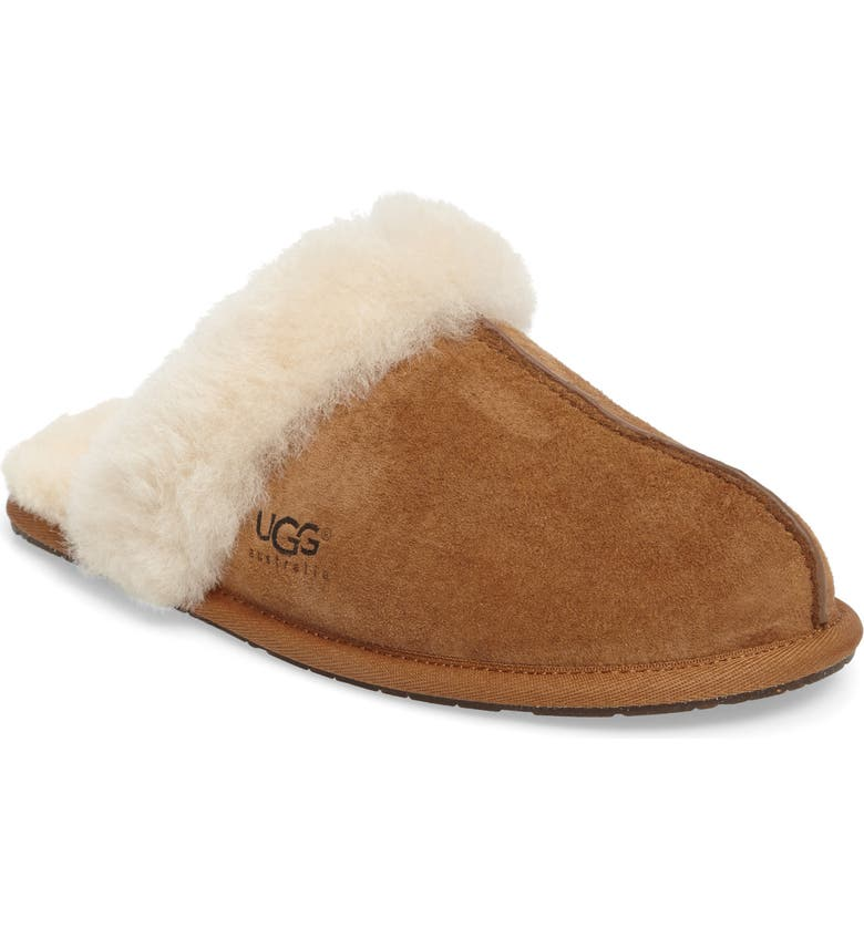 UGG<SUP>®</SUP> Scuffette II Slipper, Main, color, CHESTNUT
