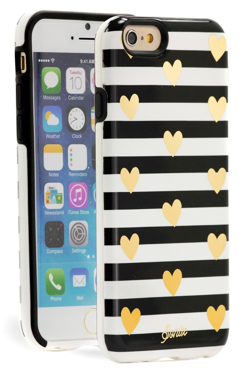 SONIX 'Heart Stripe' iPhone 6 & 6s Case, Main, color, 001