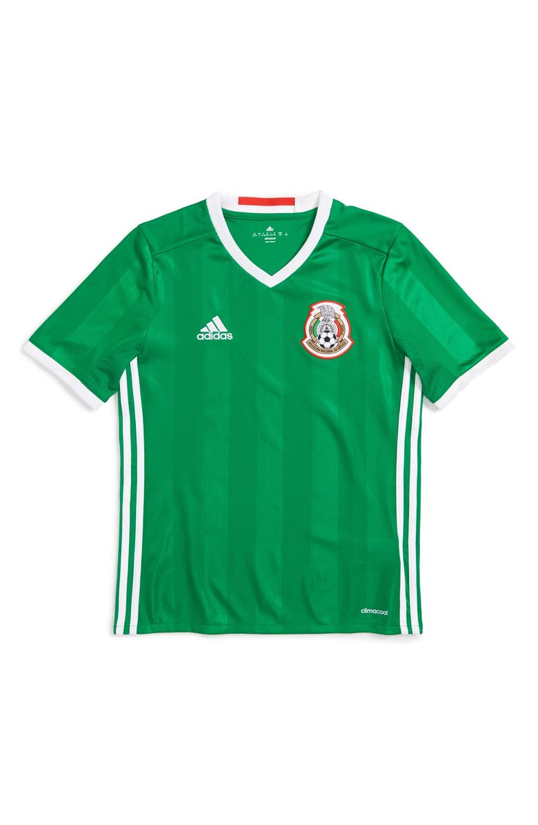 buy online 742b5 5b3ea adidas 'Mexico - Home' Replica Soccer Jersey (Little Boys ...