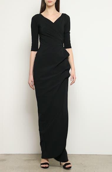 Florien Ruched Evening Dress, video thumbnail