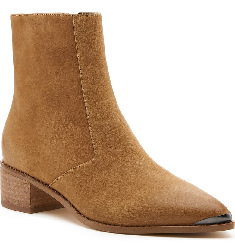 BOTKIER Greer Pointy Toe Bootie, Main, color, OASIS SAND