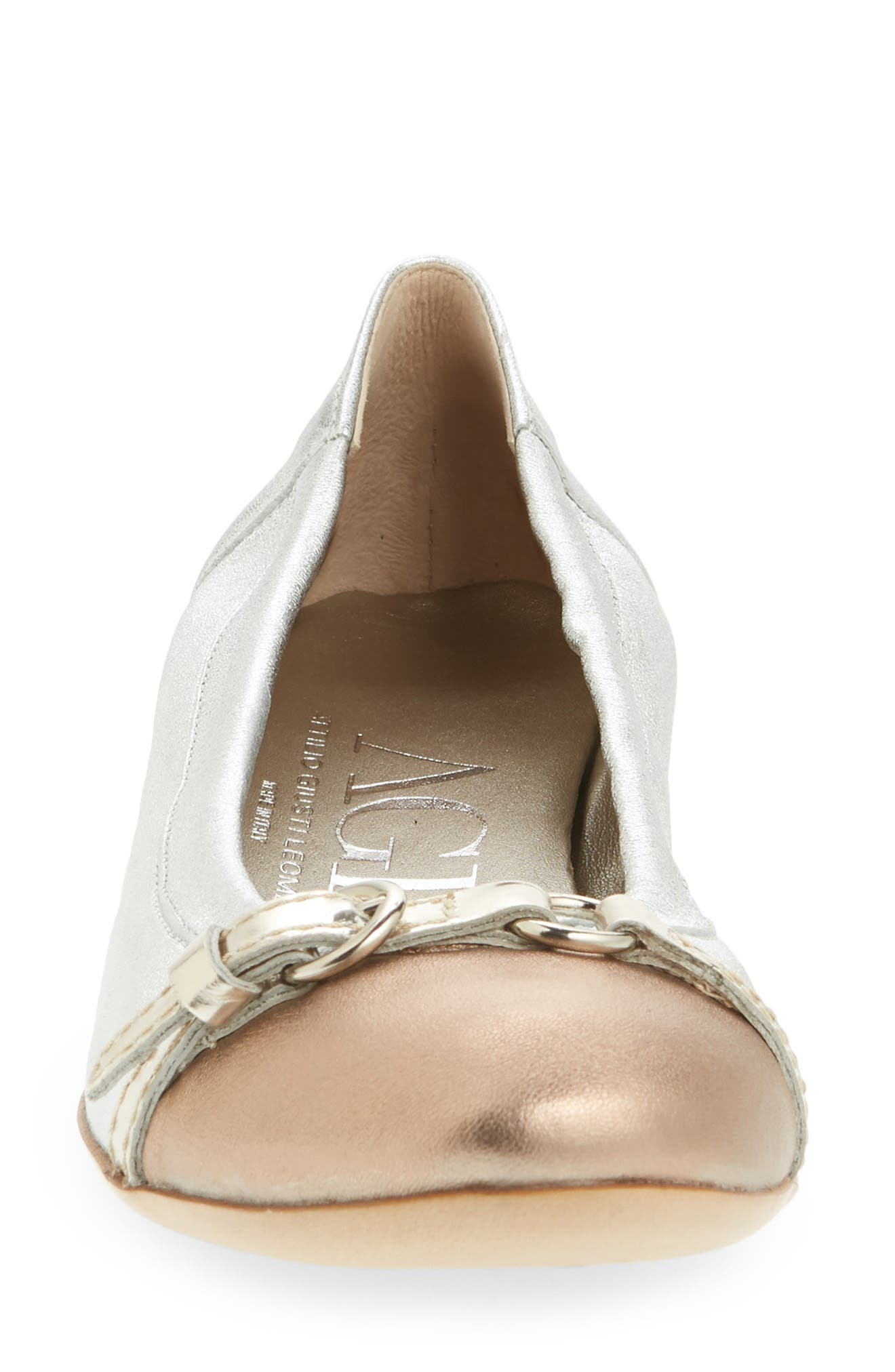 ,                             Cap Toe Ballet Flat,                             Alternate thumbnail 69, color,                             042