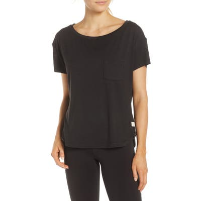 Vuori Lux Performance Tee, Black