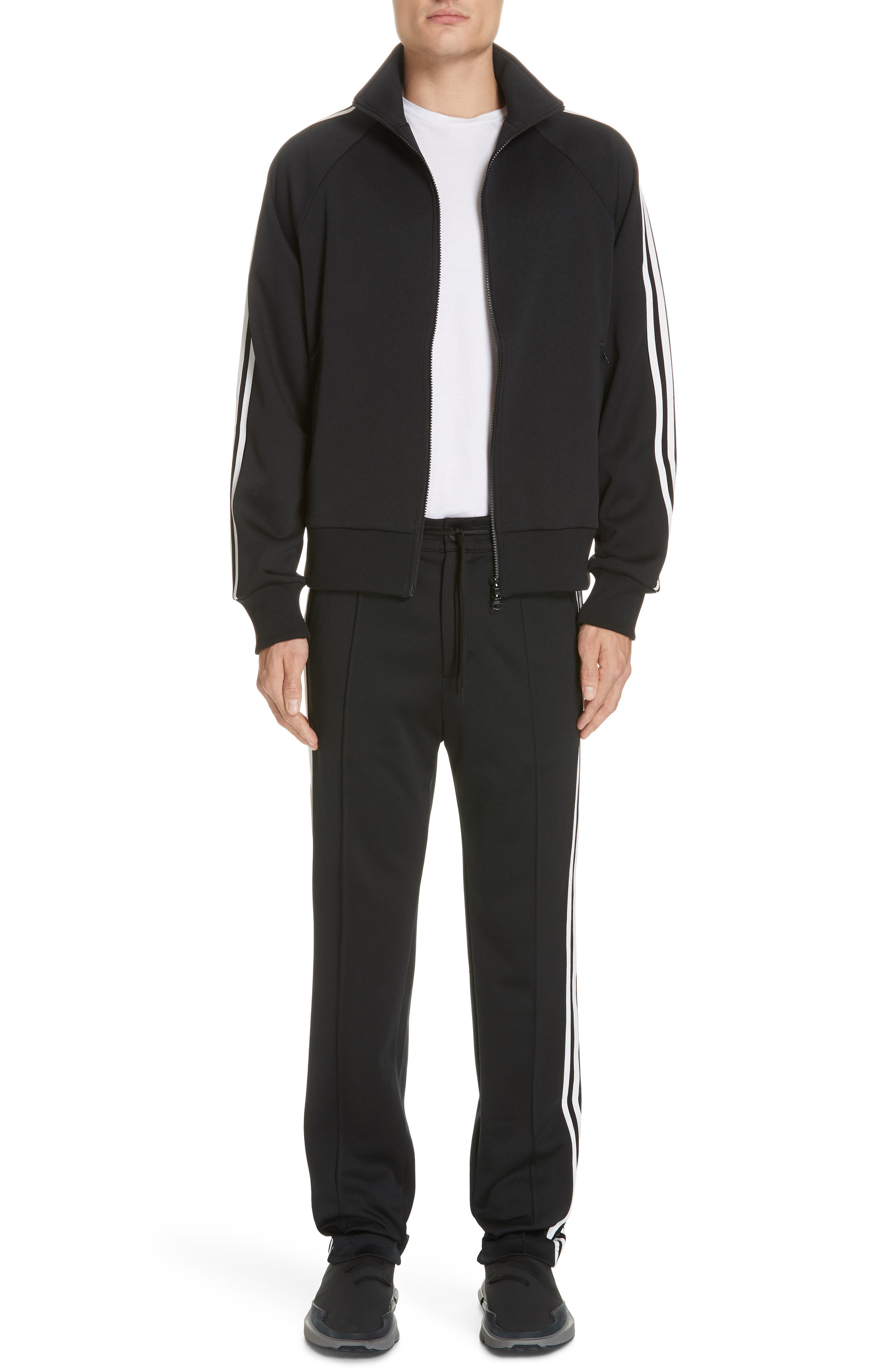 ,                             x adidas 3-Stripes Track Pants,                             Alternate thumbnail 7, color,                             BLACK