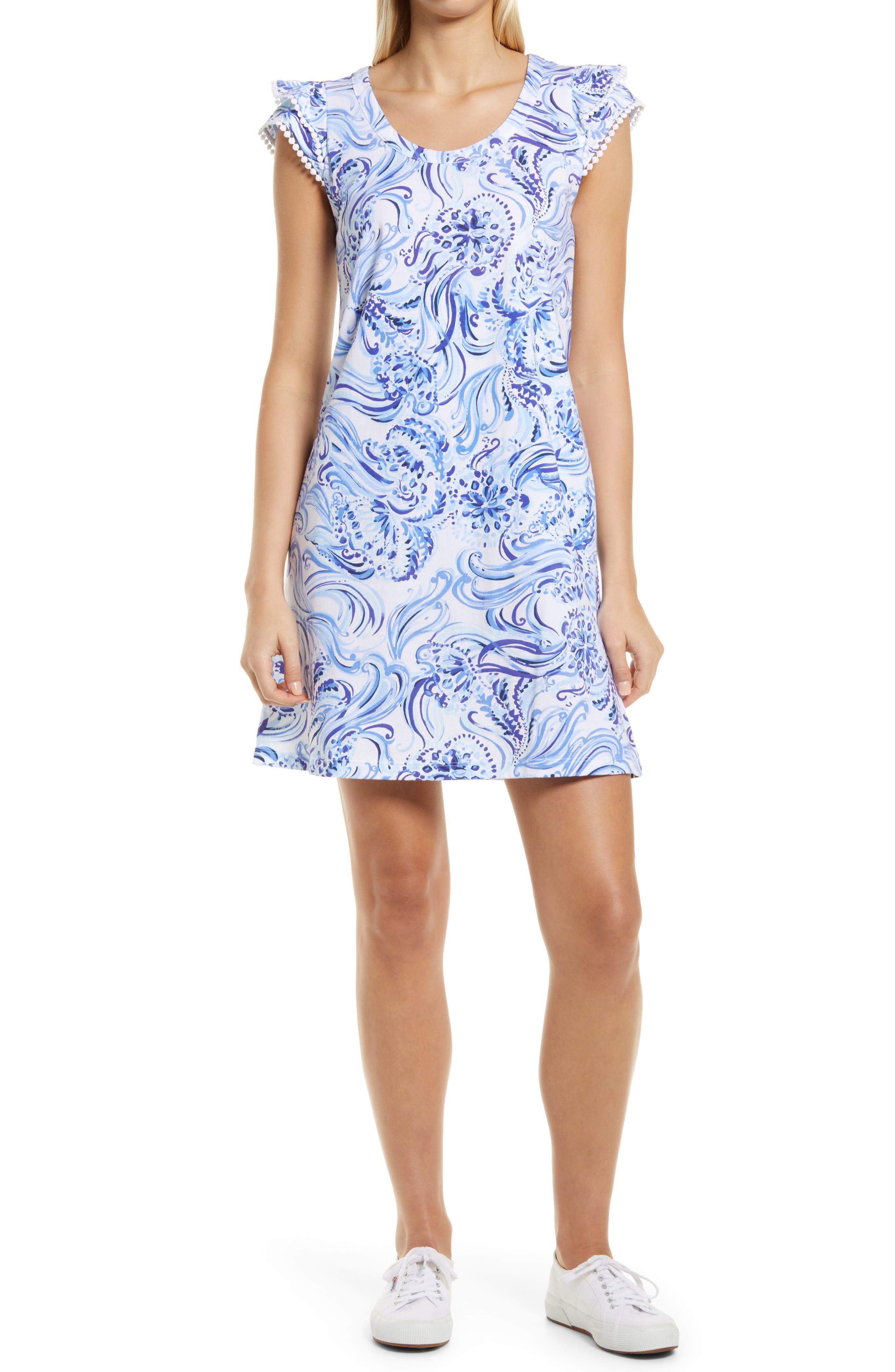 Women's Lilly Pulitzer Bridgitte Cotton Shift Dress