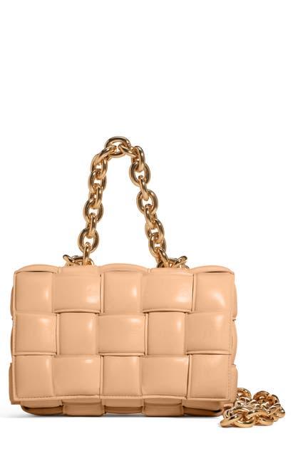 Bottega Veneta Leathers THE CHAIN CASSETTE BAG