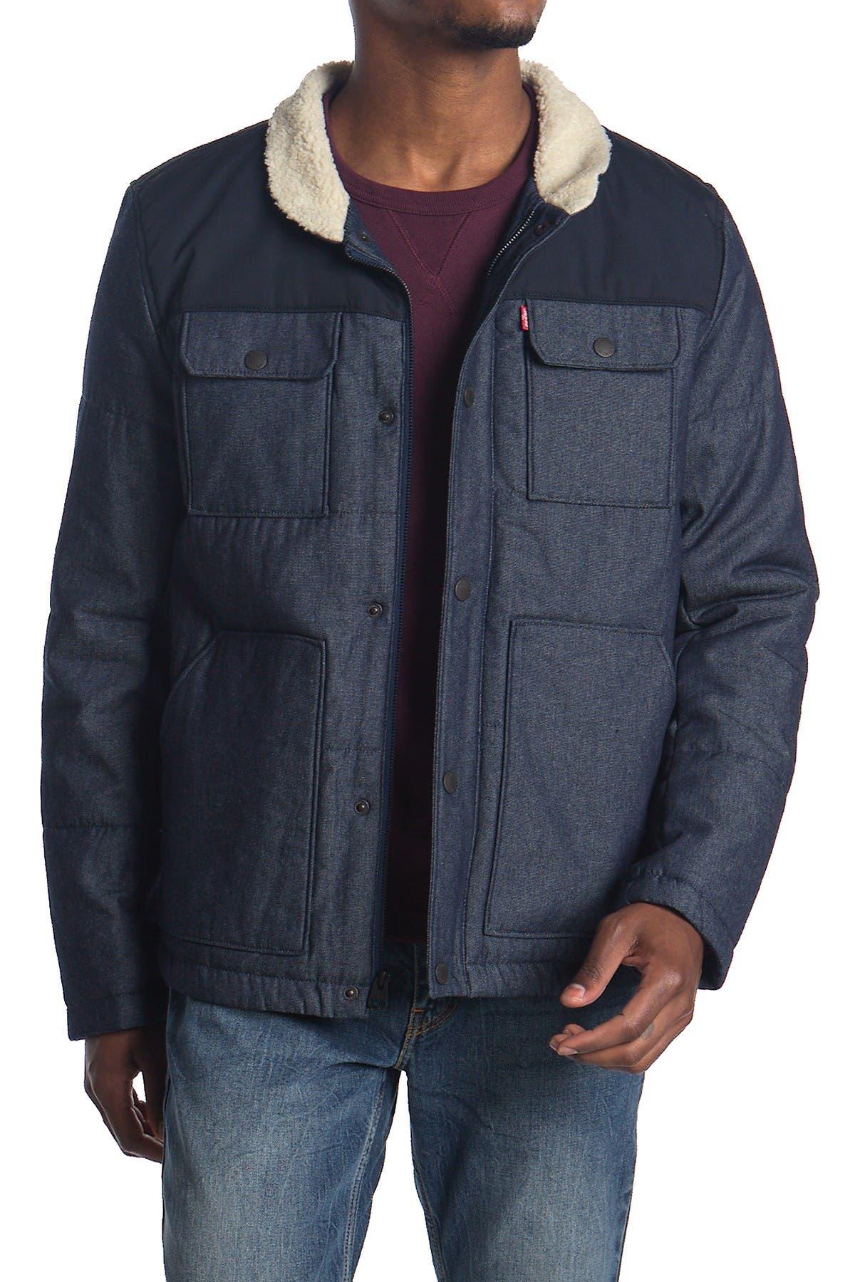 Image of Levi's Faux Shearling Lined Woodsman Jacket