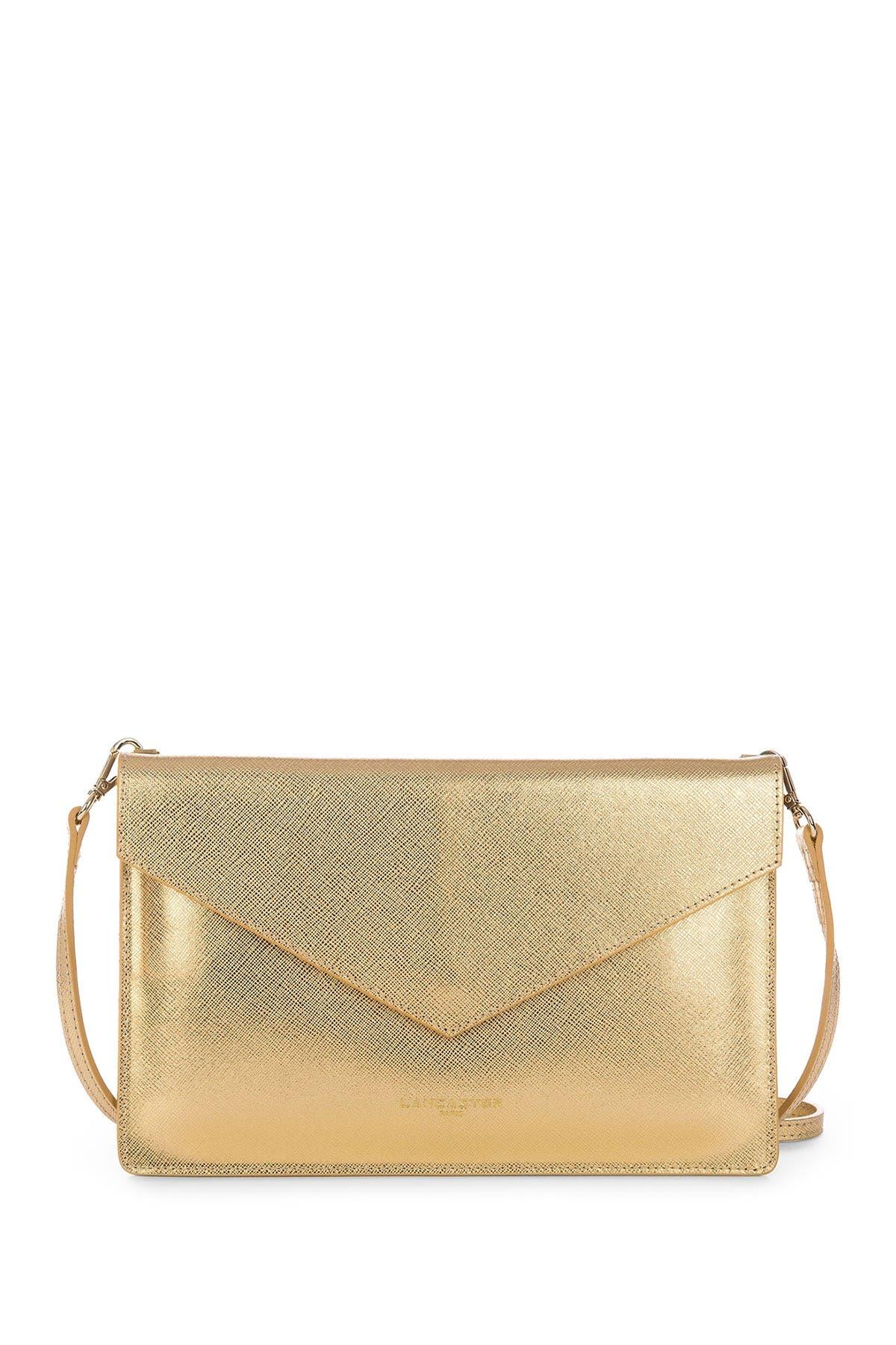 Image of Lancaster Paris Element Saffiano Leather Clutch