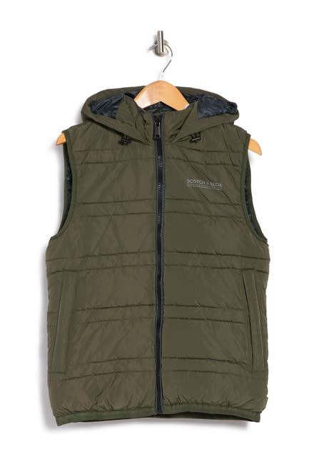 Image of Scotch & Soda PrimaLoft Hooded Vest