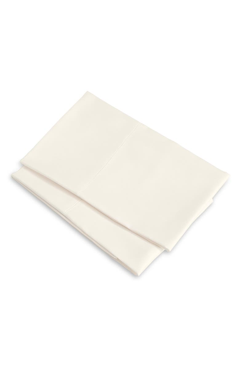 SIGNORIA FIRENZE Tuscan Dreams 400 Thread Count Set of 2 Pillowcases, Main, color, IVORY