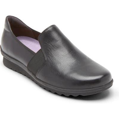 Aravon Josie Comfort Flat, EE - Black