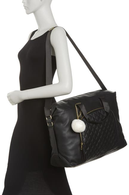 Image of Madden Girl Nylon Quilted Weekend Bag
