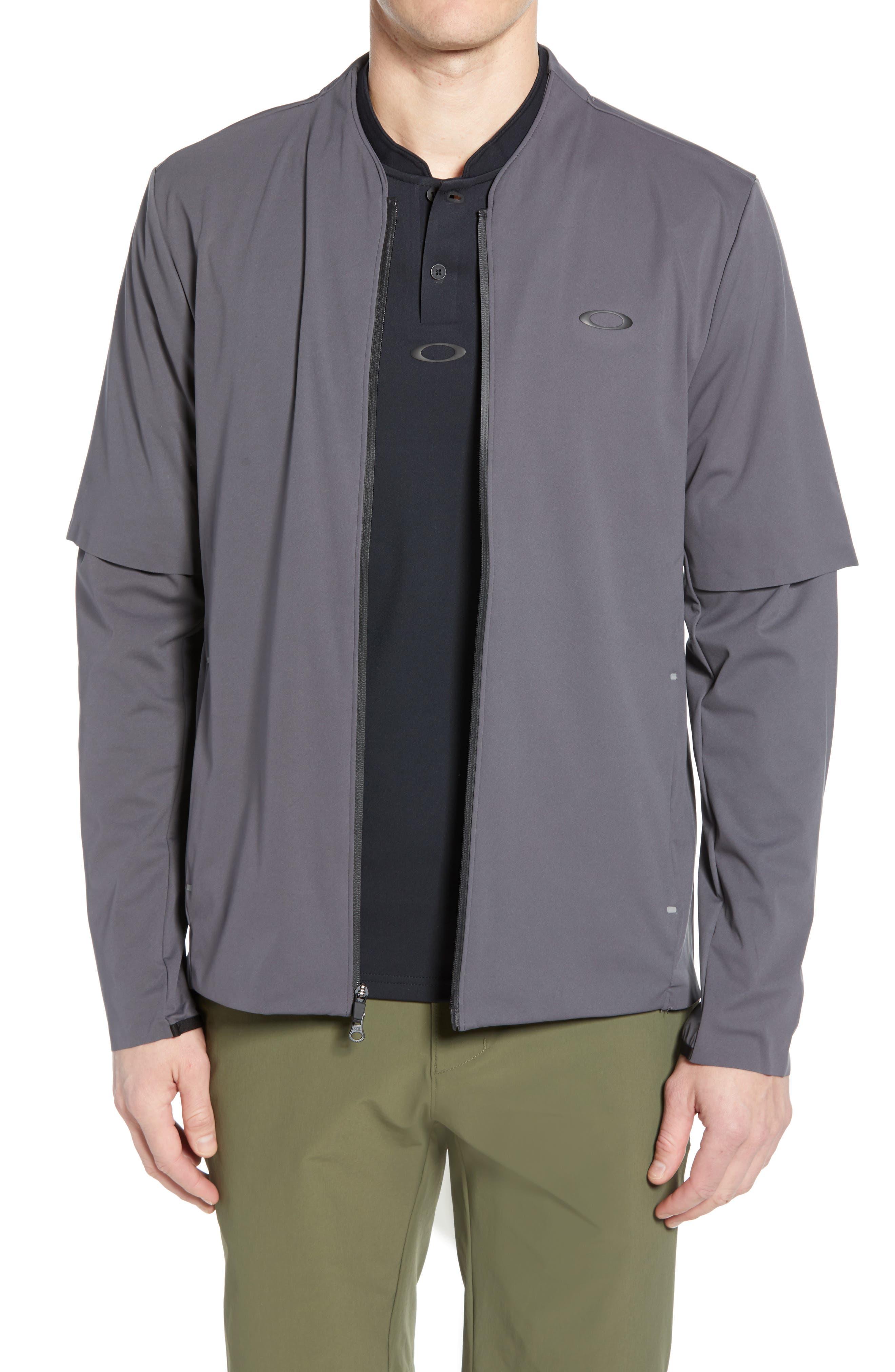 Oakley Albatross Rain Jacket, Grey