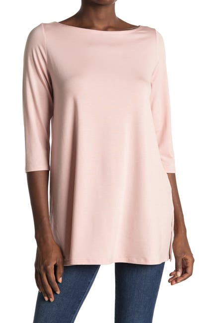Image of Eileen Fisher Boatneck Tunic