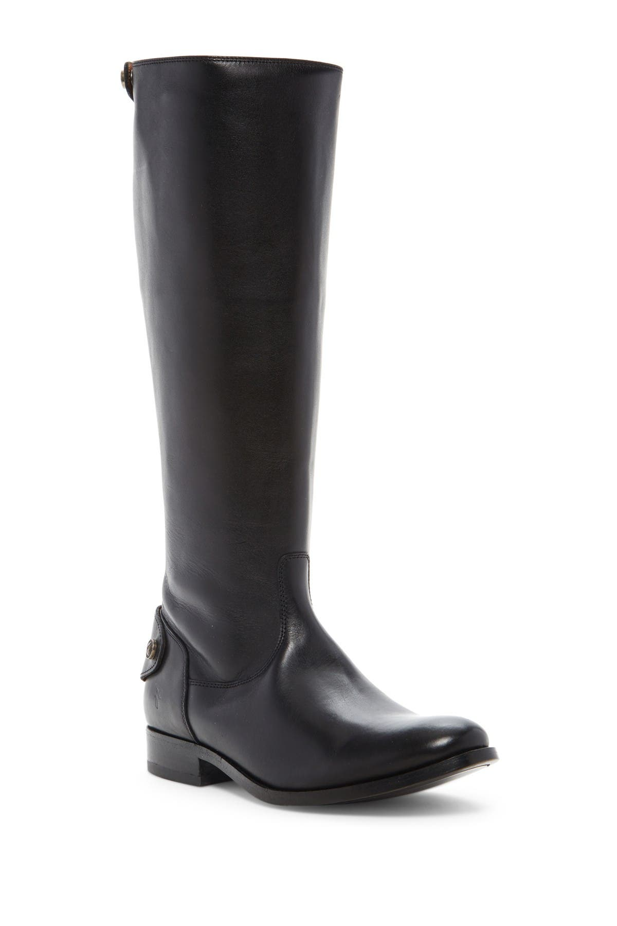 Image of Frye Melissa Button Back Zip Boot - Wide Calf Available