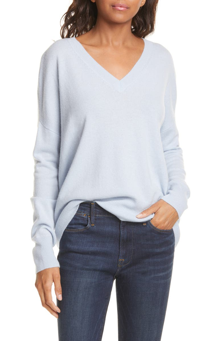 High/Low Cashmere Sweater by Nordstrom Signature