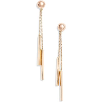 Bony Levy Double Bar Drop Earrings (Nordstrom Exclusive)