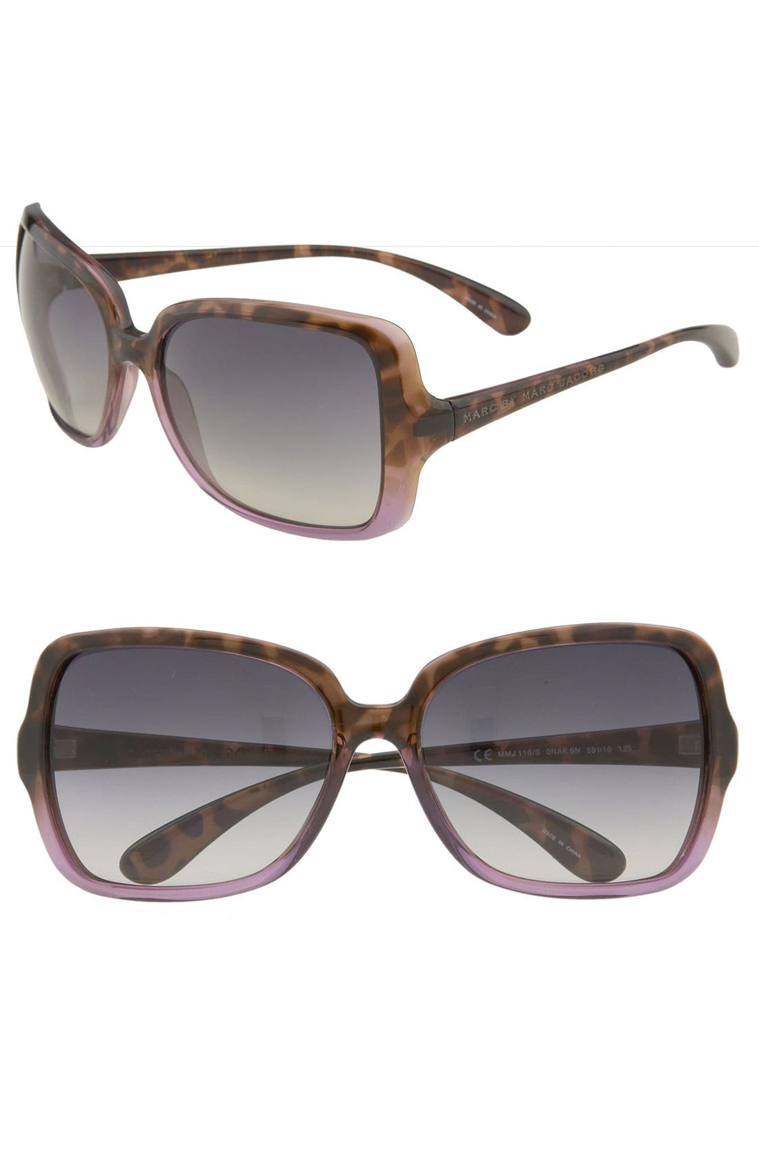 ,                             59mm Vintage Inspired Oversized Sunglasses,                             Main thumbnail 5, color,                             230