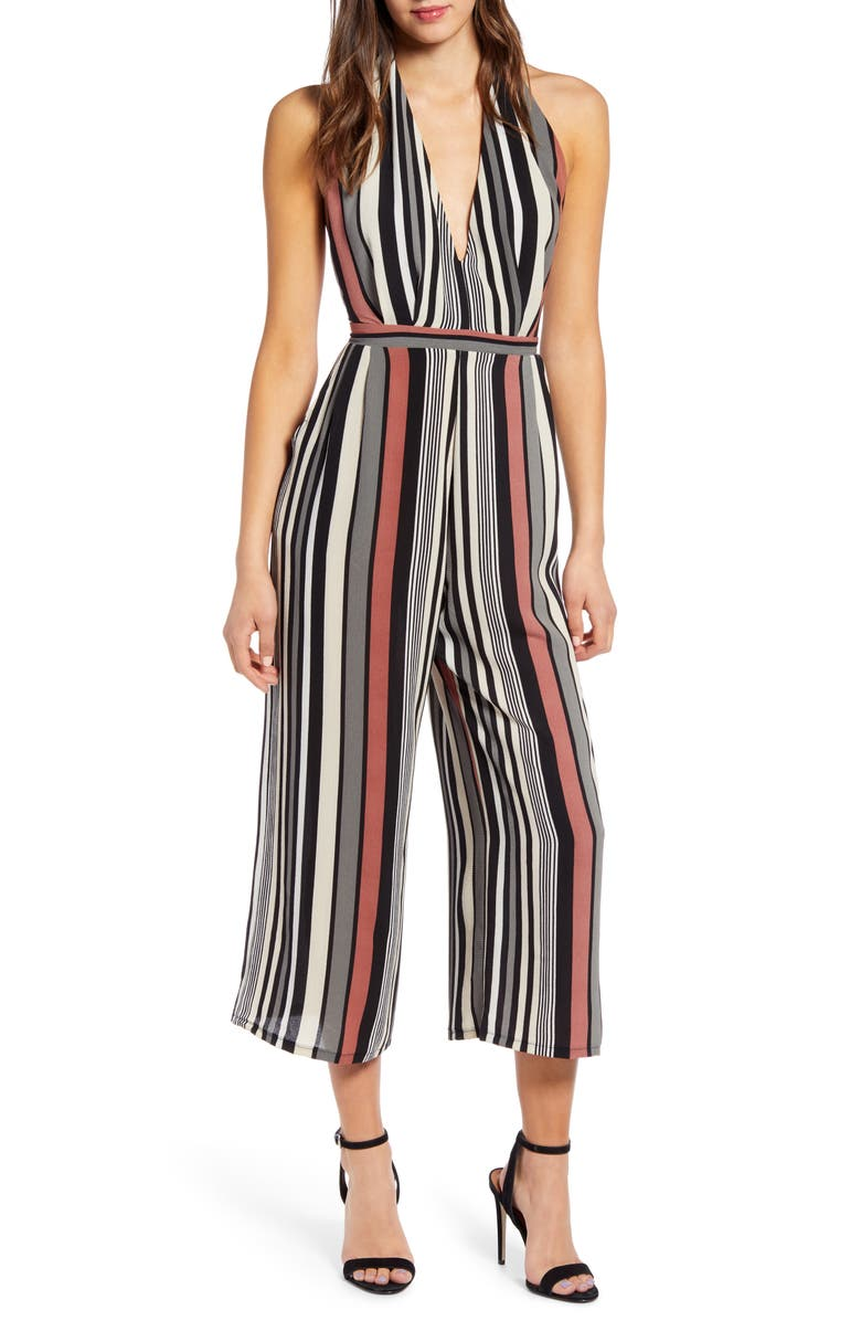 Halter Cropped Jumpsuit by Leith