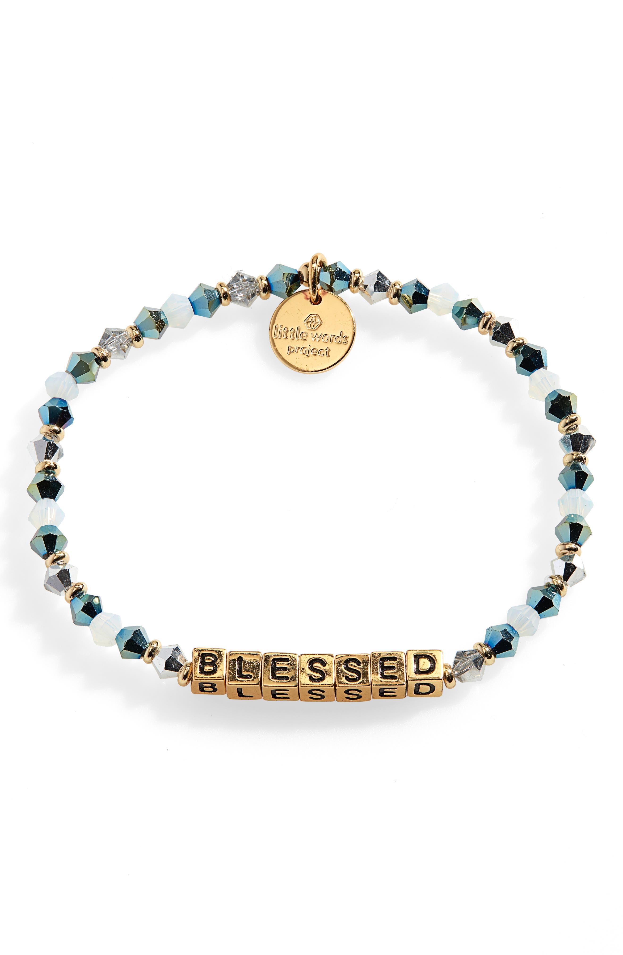 Blessed Beaded Stretch Bracelet