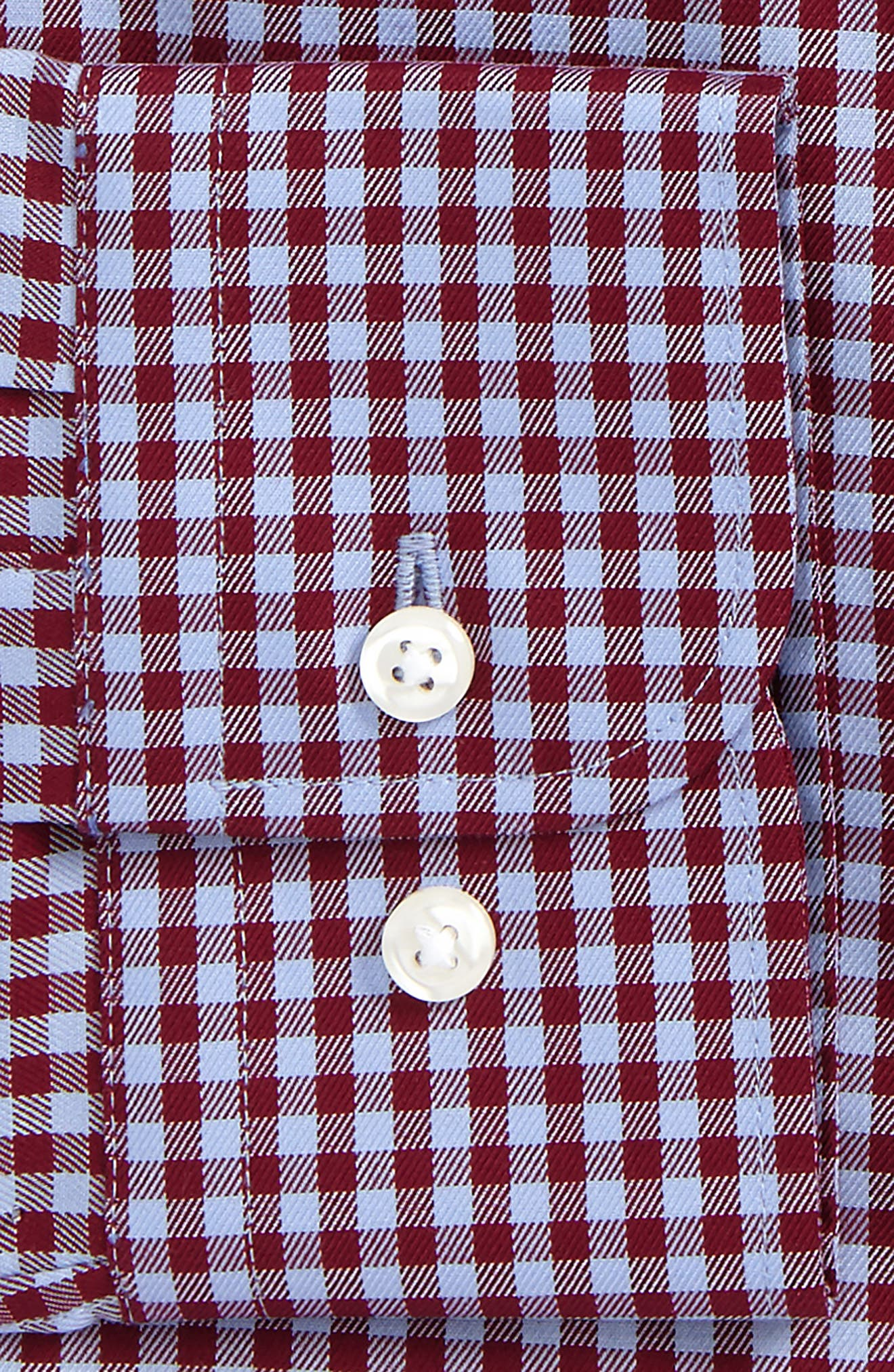 ,                             Traditional Fit Non-Iron Gingham Dress Shirt,                             Alternate thumbnail 26, color,                             601