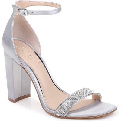 Jewel Badgley Mischka Keshia Iii Sandal, Metallic