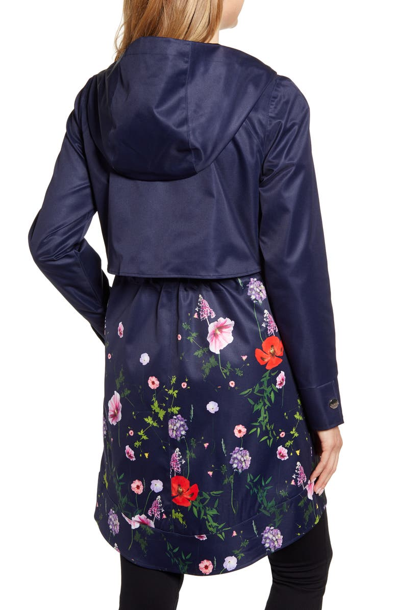 Floral Utility Jacket, Alternate, color, DK-BLUE