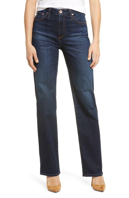 Ag Alexxis High Waist Straight Leg Jeans In Queensbury
