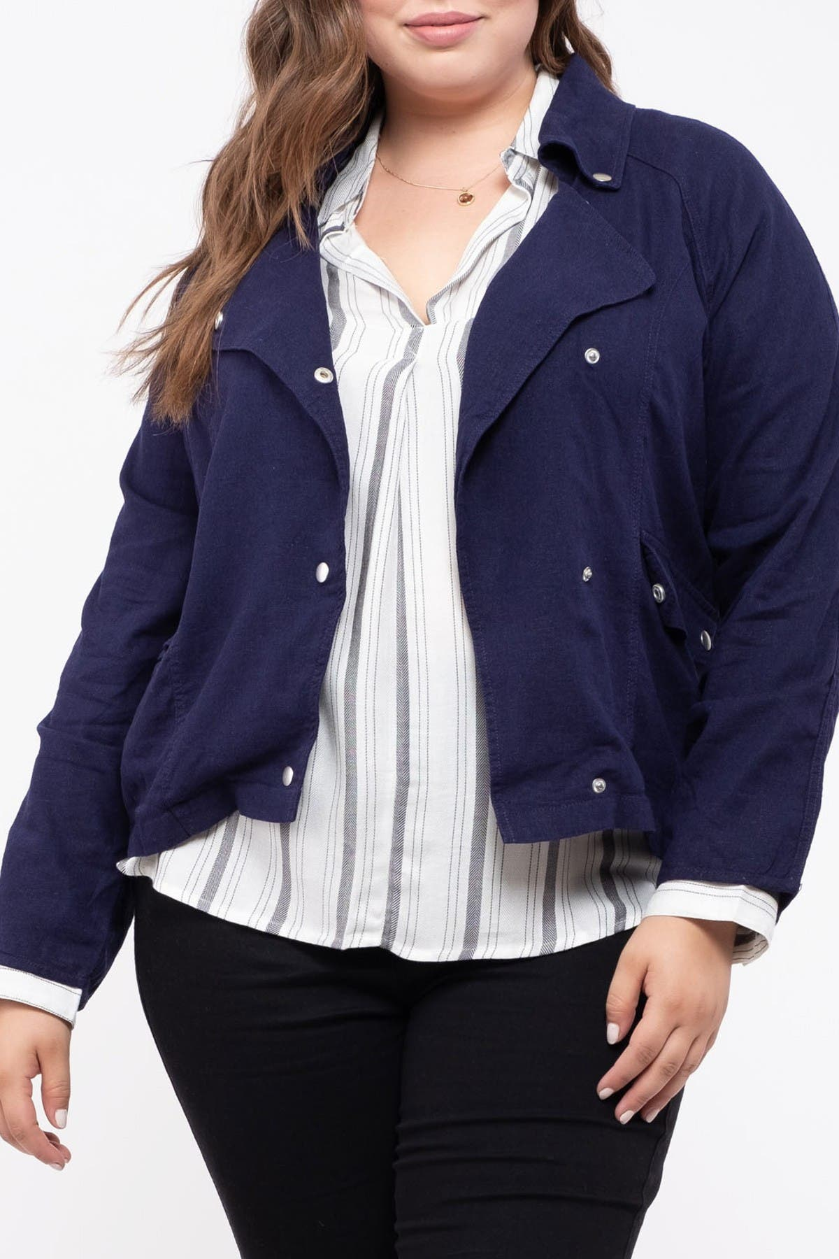 Image of Perch by Blu Pepper Woven Jacket