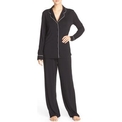 Nordstrom Lingerie Moonlight Pajamas, Black