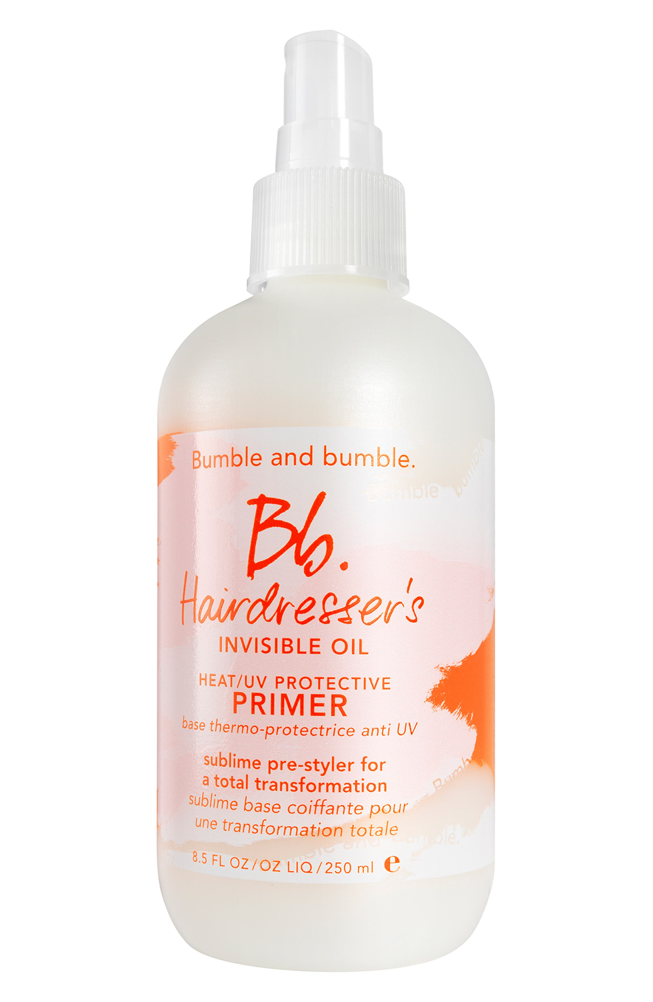 Bumble and bumble Hairdresser's Invisible Oil Heat/UV Protective Primer, Main, color, NO COLOR
